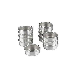 Forma Pao Mel G Fundo Fixo Aluminio 6,5 x 2,7cm C/ Cordao Duzia 0805 Gallizzi