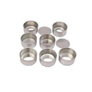 Forma Pao Mel M Fundo Falso 5,0 x 1,7 Cm Aluminio Duzia 0809 Gallizzi