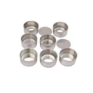 Forma Pao Mel Pequeno 4 x 2 Fundo Falso Aluminio Duzia 0811 Gallizzi