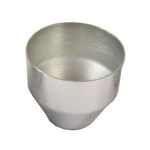 Forma Petit Gateau Aluminio 4,5 x 7,5 x 4 Cm Duzia 0819 Gallizzi