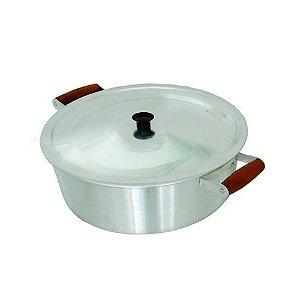 Cacarola Panela Rebatida Aluminio 8 Litros N. 32 0223 Arary