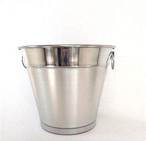 kit 4 balde de gelo pp aluminio polido 2 litros 0293 alumina