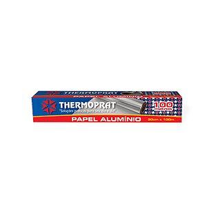 Papel Aluminio 100 Metros x 30 Cm 0136 Thermoprat