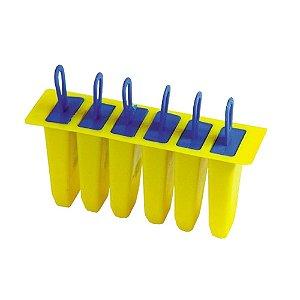 Picoleteira Plastico Para 6 Picole 0823 Gallizzi