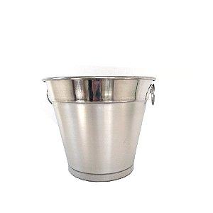 Balde Gelo G Aluminio Polido 5 Litros 0351 Alumina