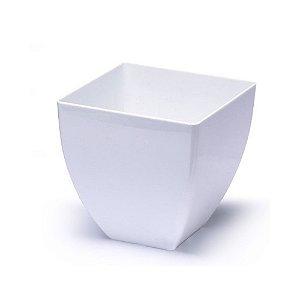 Vaso Elegance Acrilico Opaco Branco 1009 Injeplastec