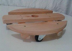 kit 4 suporte base madeira redondo vaso 40 cm 0985 madergrin () ( ver se vai anunciar)