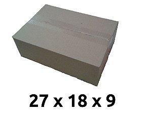 kit 400 caixa papelao n. 02 27 x 18 x 9 cm 0090 (ns) () ( ver se vai anunciar)