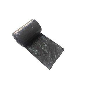 Saco Lixo Preto 50 Litros 50 Unidades 63 x 80 Dinalix 1302