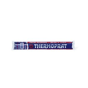 Papel Aluminio Domestico 7,5 Metros x 30 Cm Thermoprat 0135