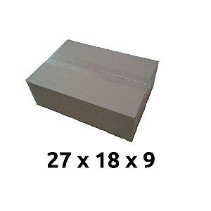Kit 25 Caixa Papelao Correio N. 02 27 x 18 x 9 Cm 0090