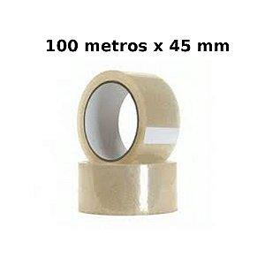 Fita Adesiva 100 Metros 45 Mm Fitar 1132