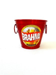 Balde Gelo Brahma Pp Aluminio 2 Litros 0358 Alumina