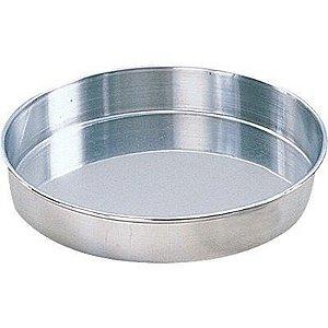 Forma Redonda Fundo Fixo 30 x 7 Em Aluminio 0711 Gallizzi