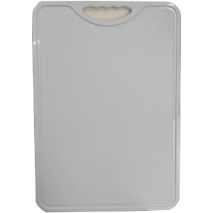 Tabua Plastica P/ Corte Churrasco Cozinha n. 10 50 x 35 cm Branca Leitosa 0429 Alves