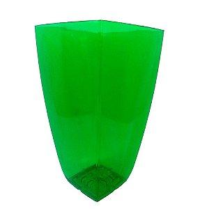 Vaso Elegance Acrilico Cristal verde Grande 0303 Injeplastec