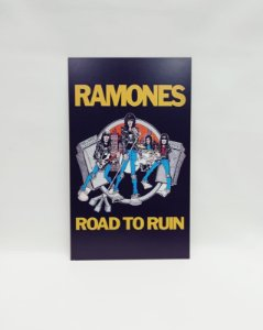 "QUADRO DECORATIVO ""RAMONES"""