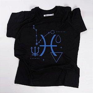 Camiseta QTVQTV Signos Peixe