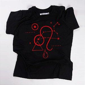 Camiseta QTVQTV Signos Leão