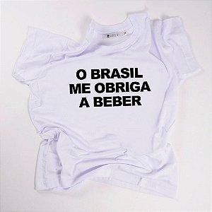 CAMISETA QTVQTV O BRASIL ME OBRIGA