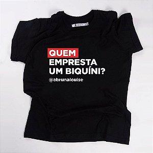 Camiseta QTVQTV Quem empresta