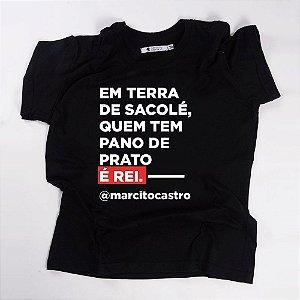 Camiseta QTVQTV EM TERRA DE SACOLÉ