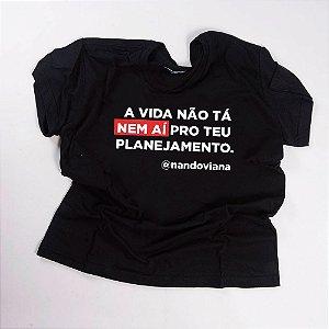 Camiseta QTVQTV NEM AÍ
