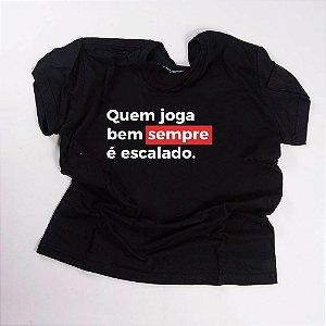Camiseta QTVQTV Quem joga