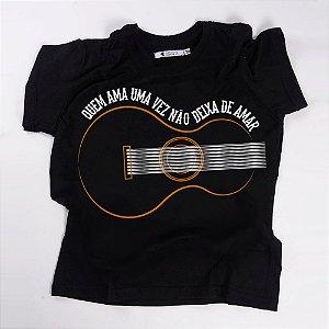 Camiseta QTVQTV  QUEM AMA UMA VEZ