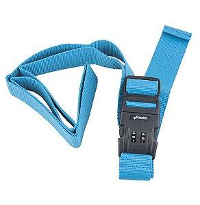 Cinto De Segurança C/ Segredo Para Mala - B133 Cruzeiro azul