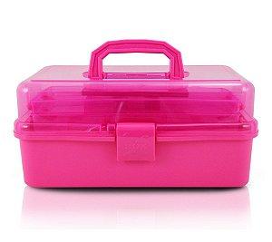 Caixa Organizadora Transparente pink alx17185 Jacki Design