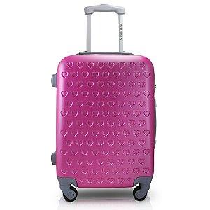 Mala De Bordo para Viagem Jacki Design Love Pink