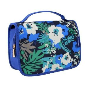 Necessaire Viagem Maquiagem Azul miss dolce Jacki Design