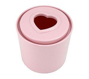 Porta Papel Higiênico Tampa Coração Jacki Design rosa