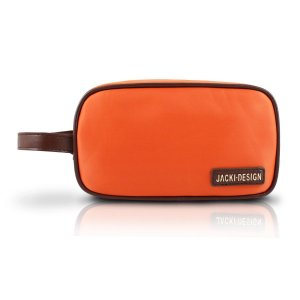 Necessaire dupla com alça laranja Jacki Design Abc14101