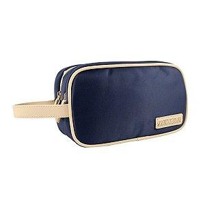 Necessaire dupla com Alça Abc14101 azul Jacki Design