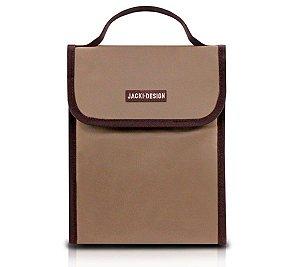 Bolsa Térmica com alça Essencial Jacki Design Marrom