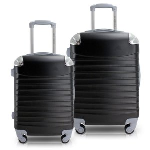 Conjunto de malas de viagem P M Urbano Jacki Design Pretas
