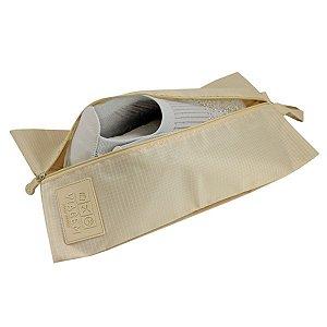 Necessaire para calçado Jacki Design Bege