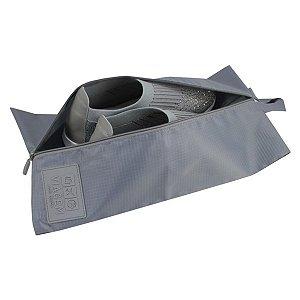 Necessaire para calçado Jacki Design Cinza