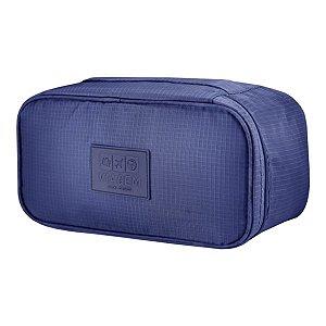 Porta Lingerie necessaire azul Jacki Design