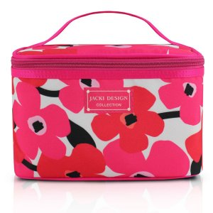 Necessaire Frasqueira Papoula Jacki Design Pink