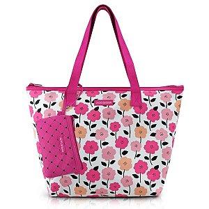 Bolsa com Porta Moedas Jacki Design Pink lover Pink