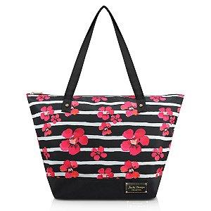 Bolsa Estampada feminina Bossanova Preta Jacki Design