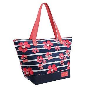 Bolsa Sacola feminina Azul Bossanova Jacki Design