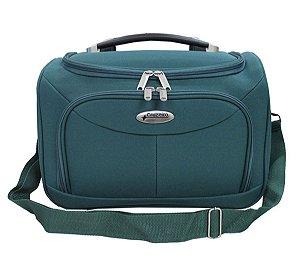 Bolsa de viagem unissex F14 verde com alça carona Cruzeiro