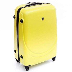 Mala de Viagem pequena amarelo ABS rodas 360° Jean Pierre