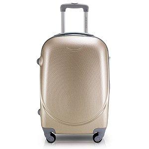 Mala De Bordo para Viagem Jacki Design Dourada