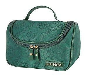 Necessaire de viagem com Gancho verde essencial Jack Design