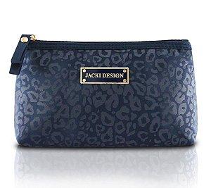 Necessaire De Bolsa Onça azul Miss Chantelle Jacki Design